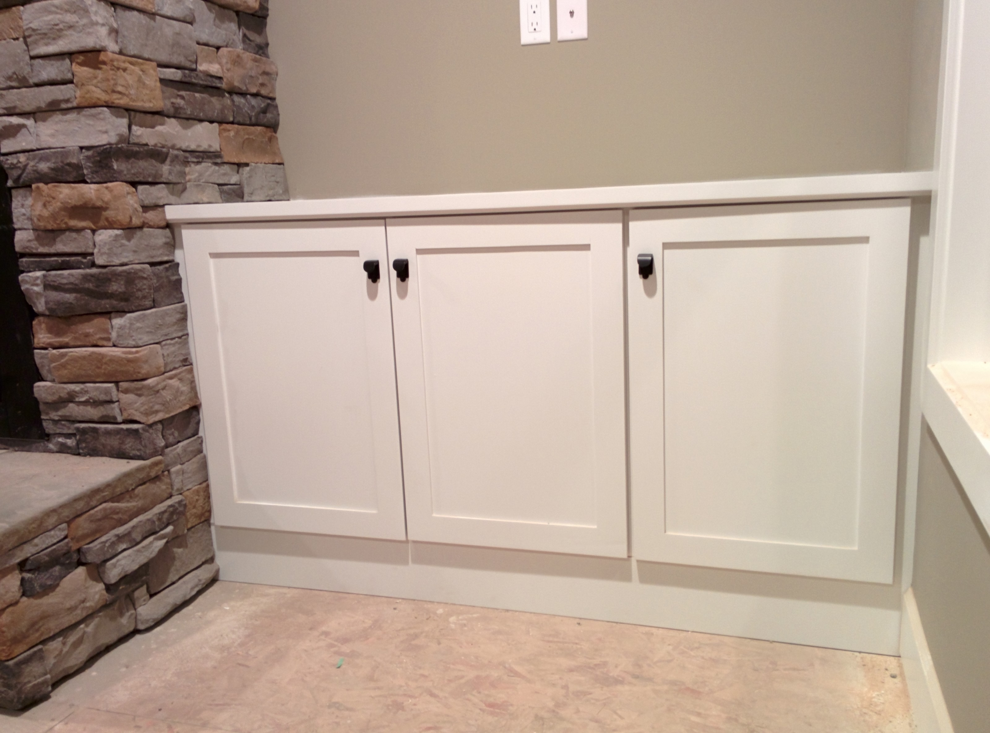 Residential legacy mill cabinet for Residential cabinets
